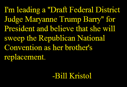 Draft Maryanne Trump Barry