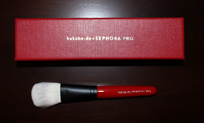 hakuho-do + SEPHORA Kusabi Wedge Sloping Powder Brush