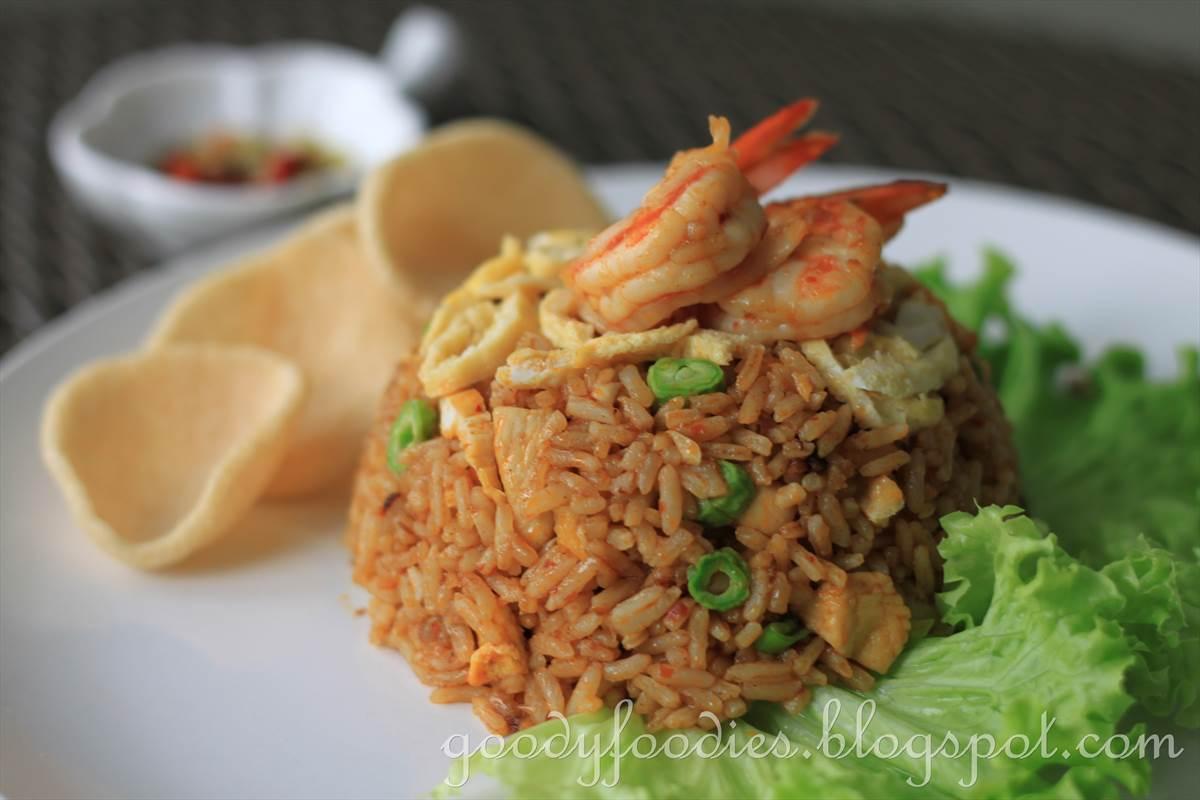 GoodyFoodies: Recipe: Nasi Goreng Indonesia (Indonesian fried rice ...