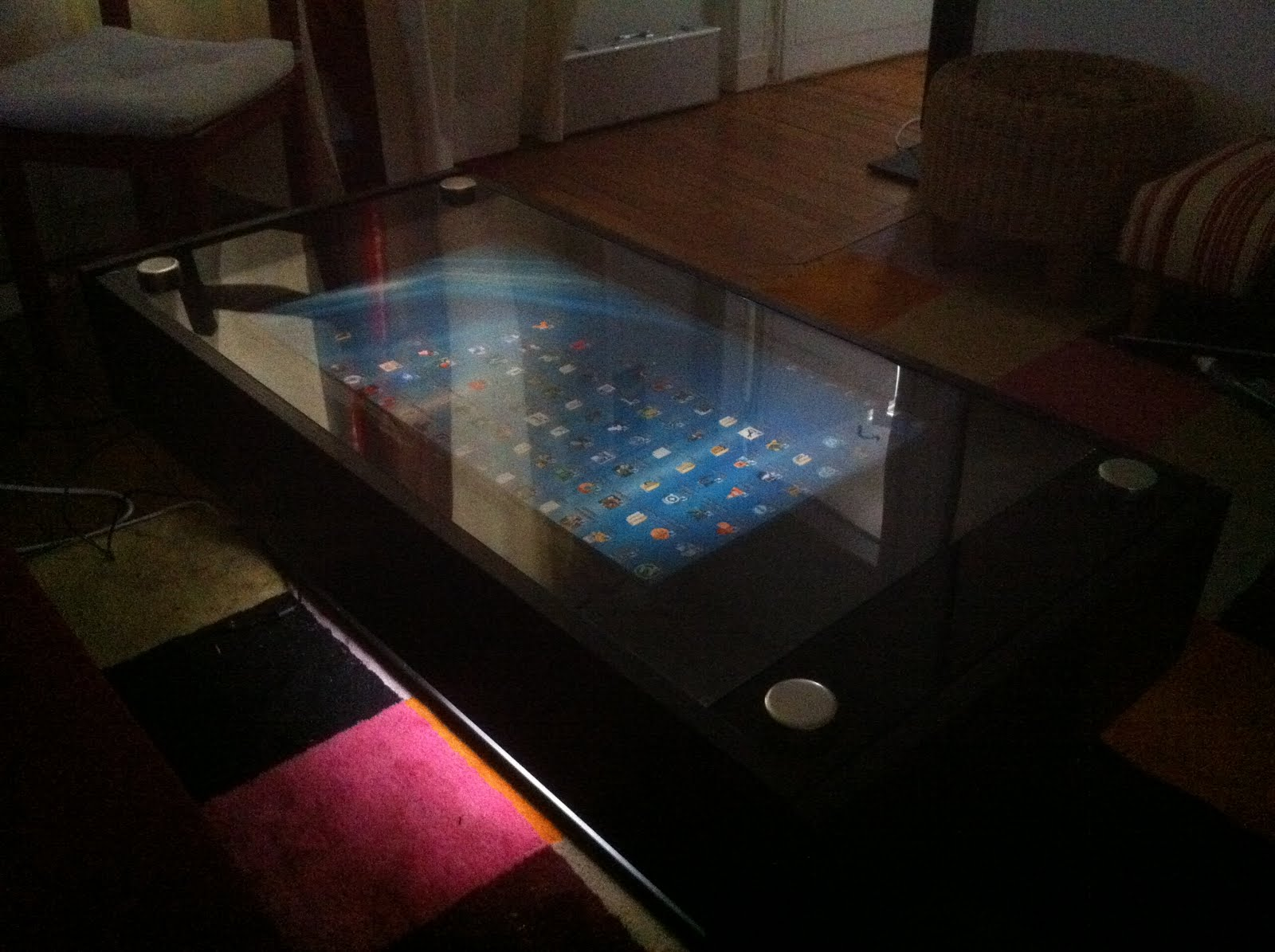 NUIsance table DIY LLP LCD Multitouch table based on a Ramvik
