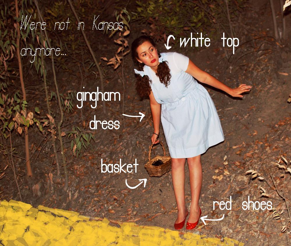 Glitter Mint: Costume Week // Day 4 // Dorothy of Oz