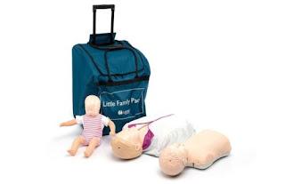 Manekin CPR Laerdal Little Family Pack