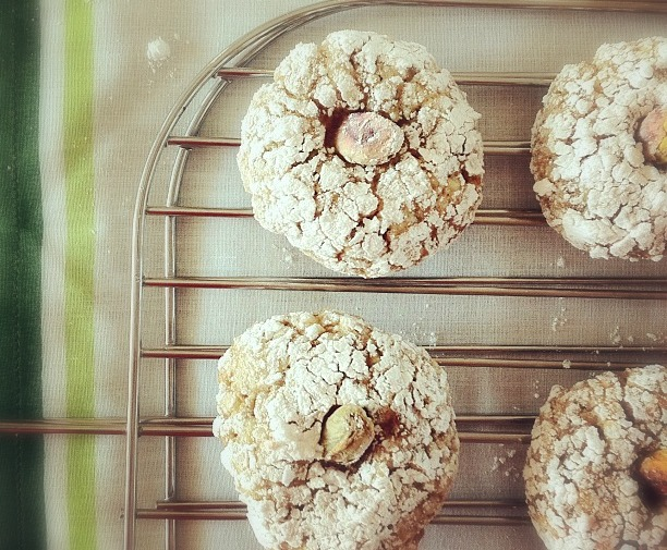 kayla marie's kitchen: Biscotti al Pistacchio
