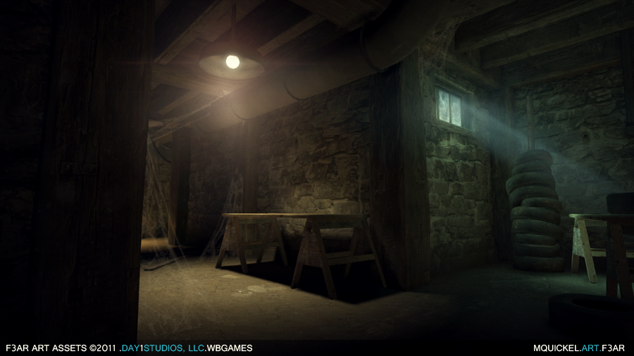 ... as artists were between tasks and they were instrumental in helping solidify the look of the level with a few of the props texture work and lighting. & mquickel.blog.portfolio: FEAR 3 (F3AR) azcodes.com