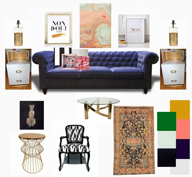 vintage modern living room, Living room Moodboard, Mix of vintage and modern living room decor ideas