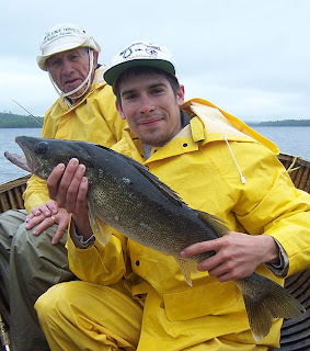 Canadian Trophy Walleye Fishing Ontario Canada