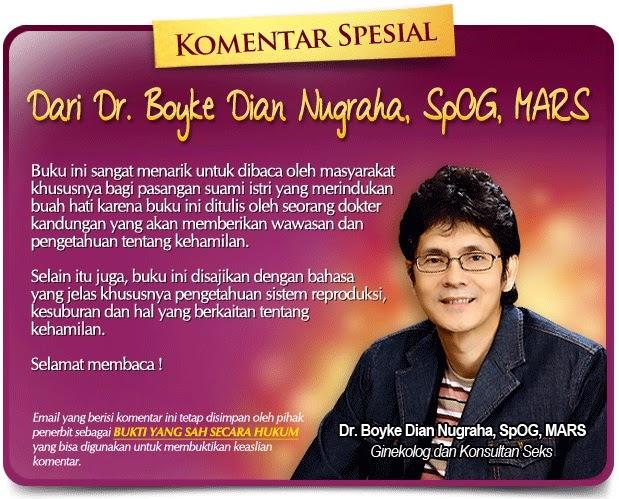 komentar spesial dr boyke dian nugraha SpOG