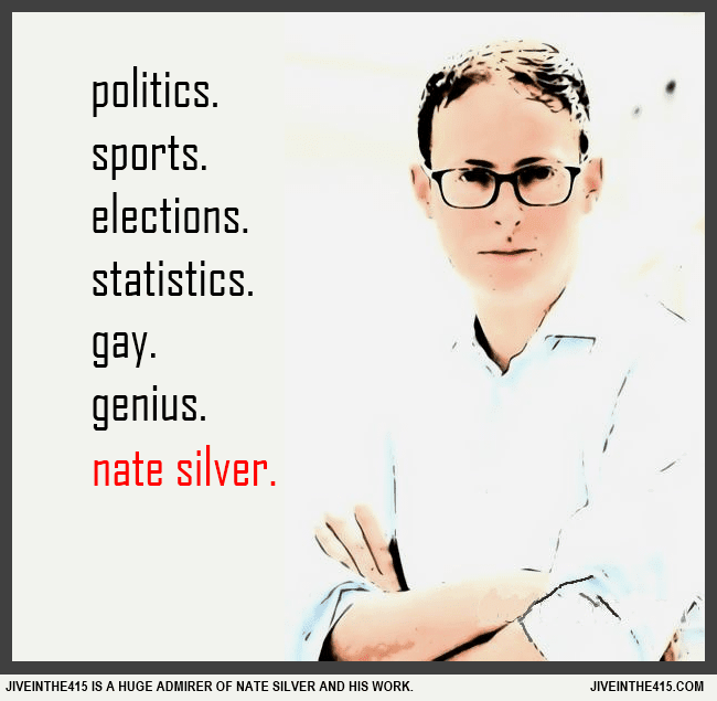 Nate Silver, the gay blogger who rose to fame with his blog 538 has left the NY Times, and he's moving to ESPN