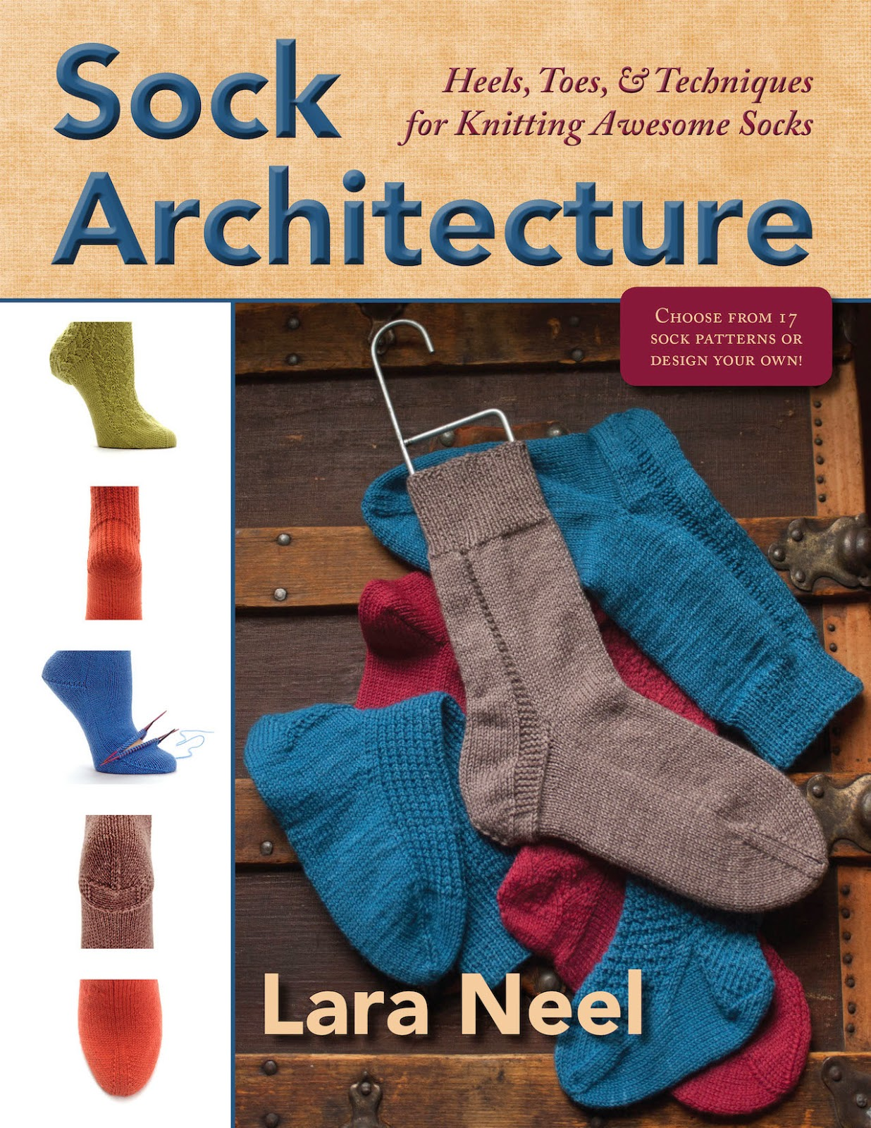 Math4Knitters: Sock Architecture, in PDF and Print Form