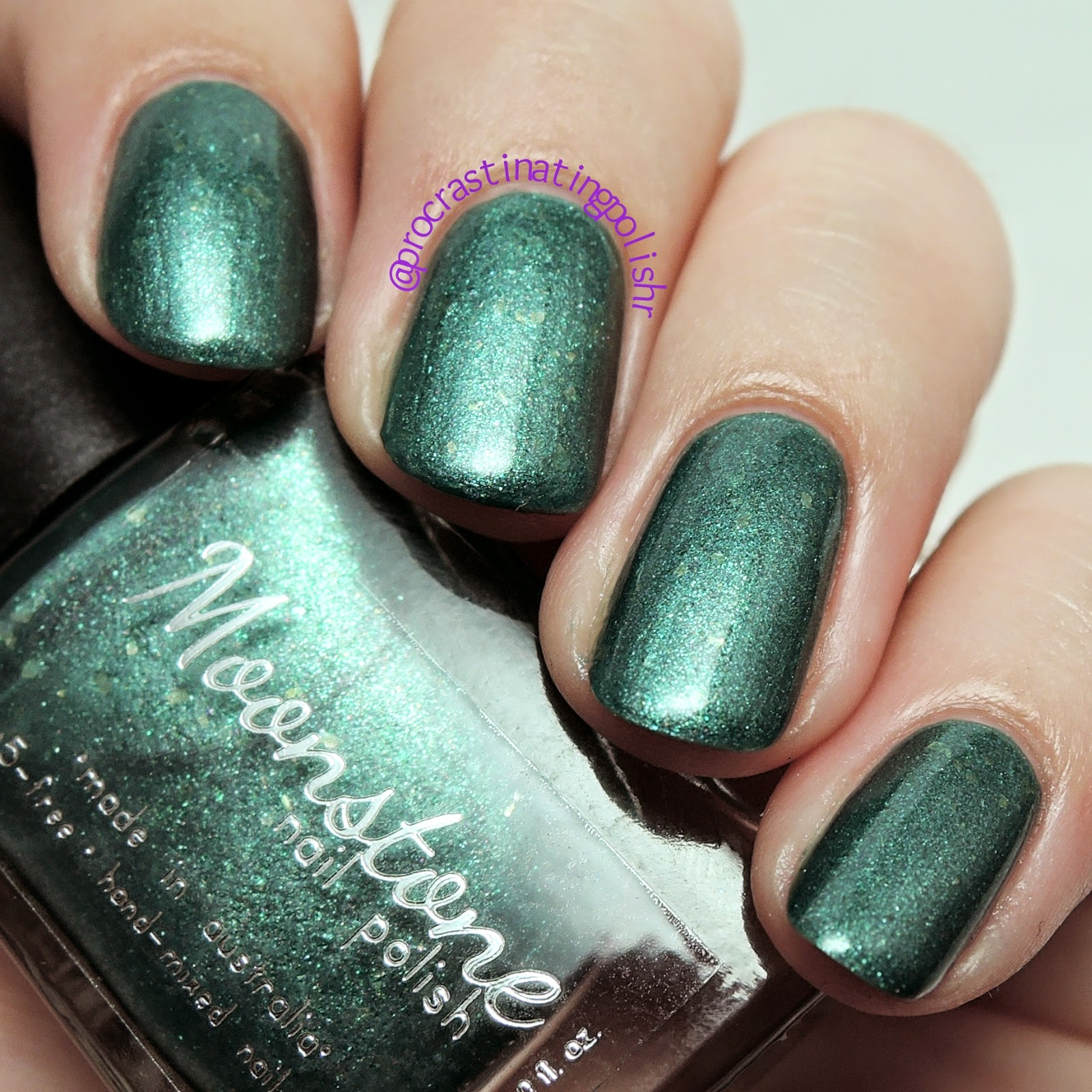 Moonstone Nail Polish - Minerva | Wicked Witches collection