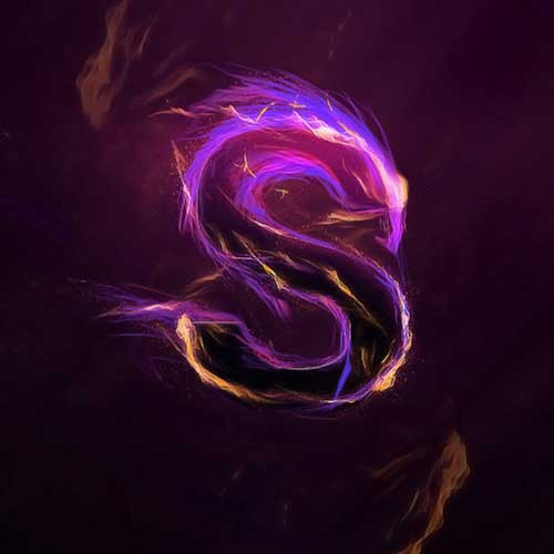 Design Magical Fire Energy Text Effect in Photoshop