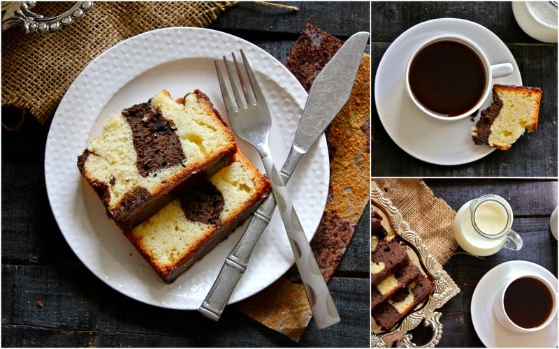 Find the simple and delicious recipe for Chocolate and Vanilla Marble Loaf Cake from scratch. It is tried, tested and so simple to follow.