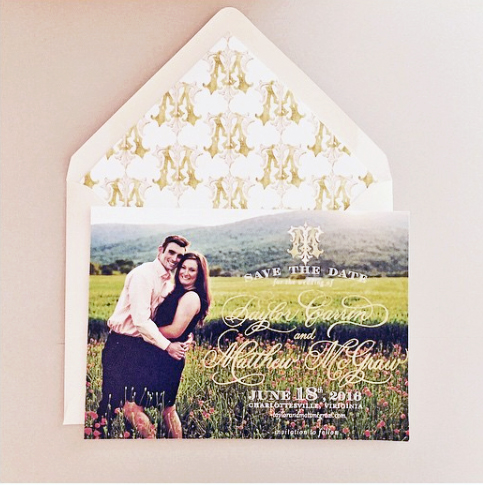 Charlottesville Wedding Save the Date