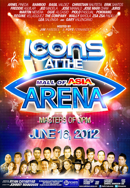 OPM Icons for a one-night concert at SM Arena on June 16