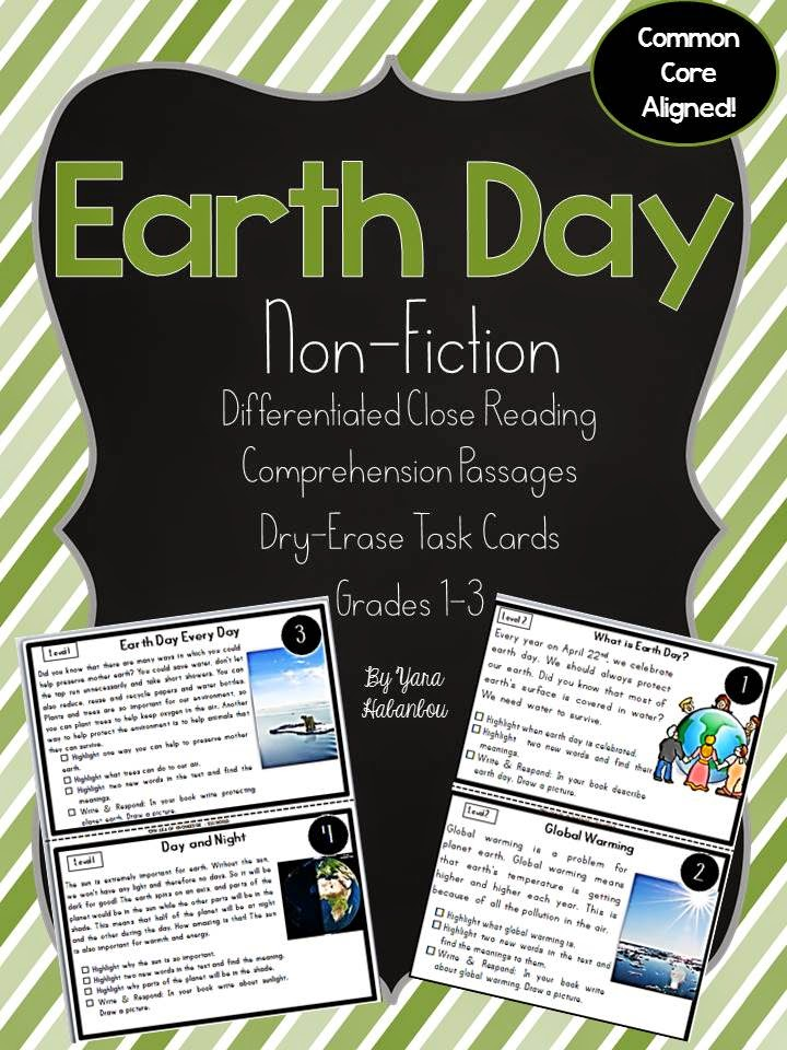 https://www.teacherspayteachers.com/Product/Earth-Day-Nonfiction-Reading-K-3-1760984