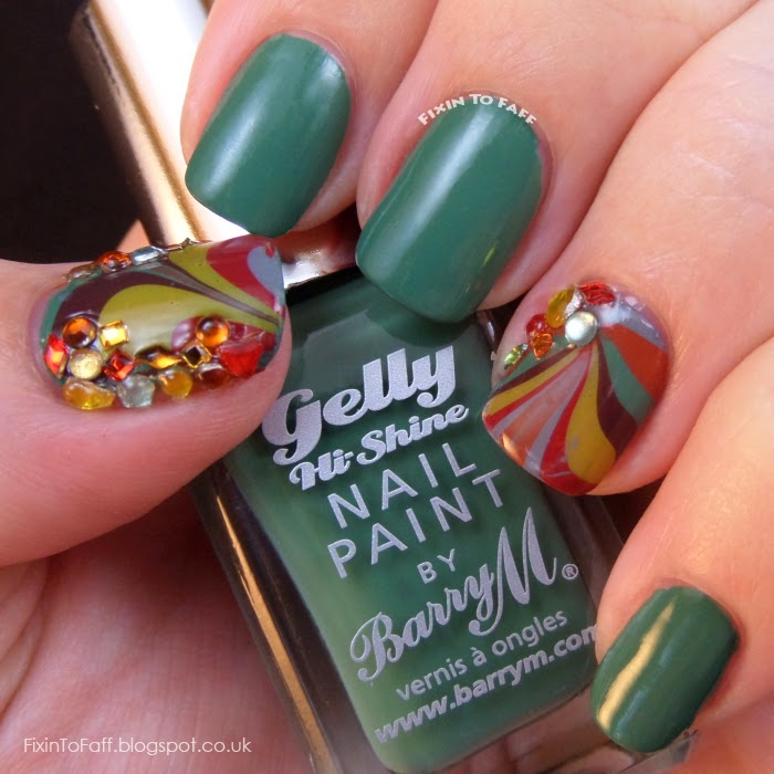 Barry M swatch Cardamom