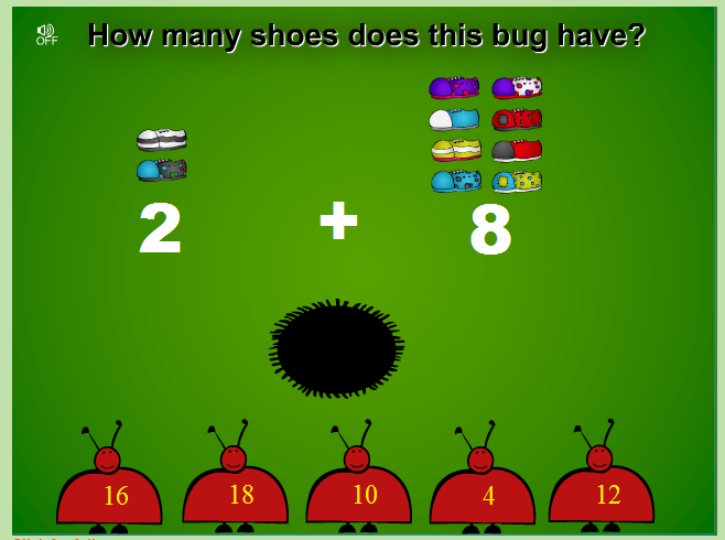 http://www.sheppardsoftware.com/mathgames/earlymath/bugabalooShoes.htm