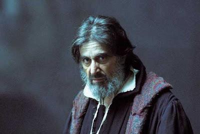 Al Pacino en una de las escenas de la película El mercader de Venecia
