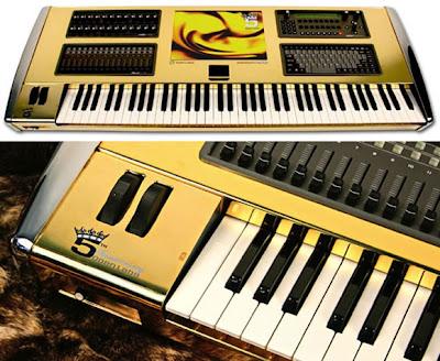 Creative Golden Gadgets and Cool Gold Gadget Designs (15) 7