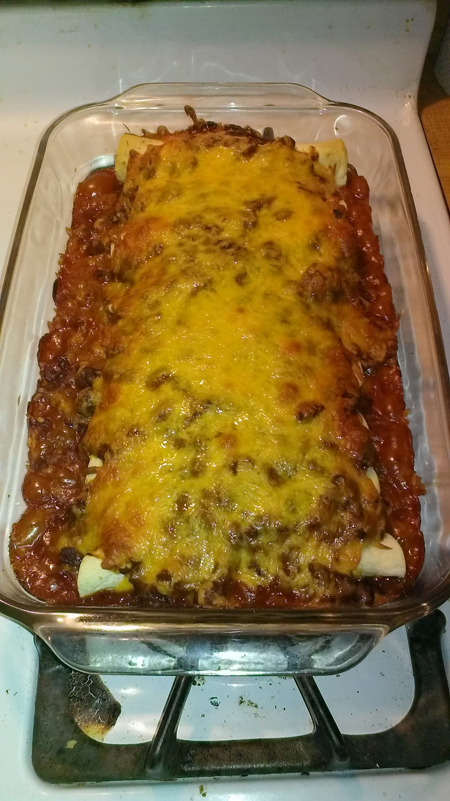 Growing to Four: Chili Dog Casserole