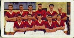 Wrexham fc 1956 / 57