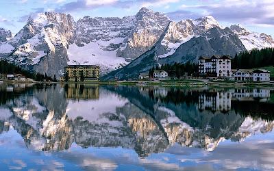 озеро  Мизурина Италия