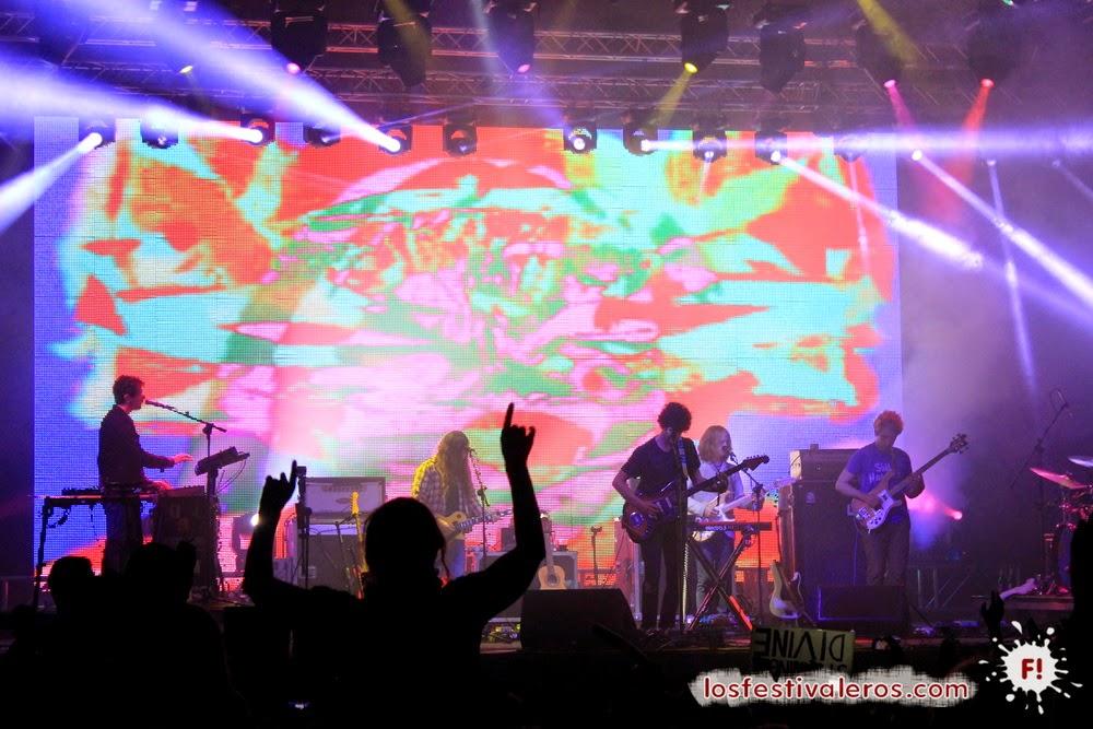 MGMT, BBK Live 2014, Festival
