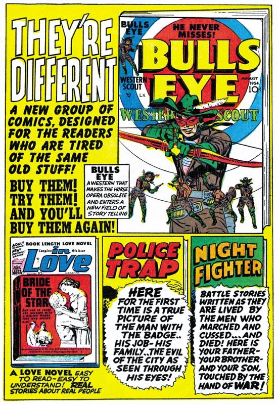 JOE SIMON'S  & JACK KIRBY'S MAINLINE COMICS