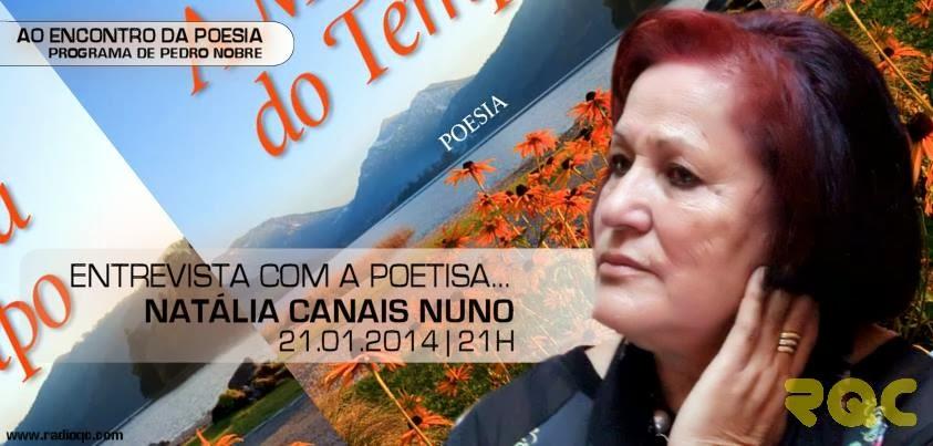 Entrevista sobre poesia na Radio Quinta do Conde