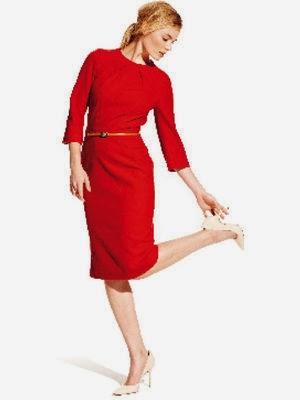 Красное платье с выкройками