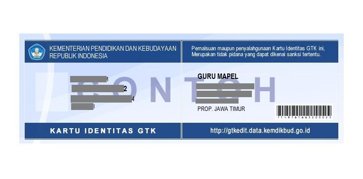 Cara Cetak Kartu Identitas Gtk 2017 Di Gtkedit Data Kemdikbud Go Id Ops Kudu