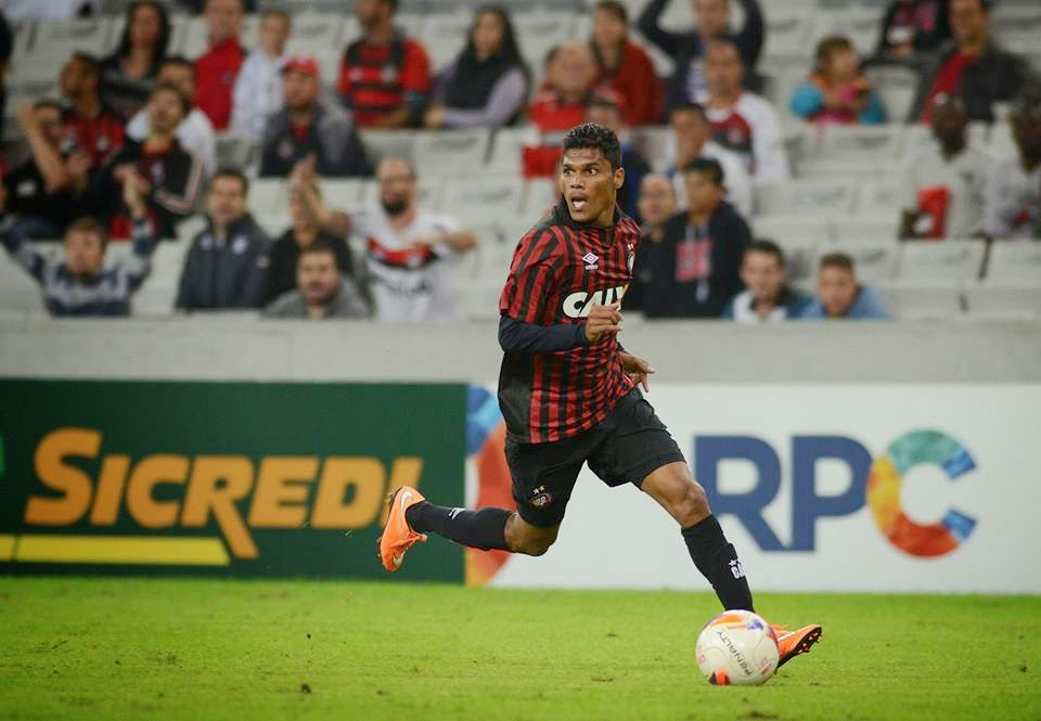Romeo Fernandes makes his senior debut for Atletico Paranaense