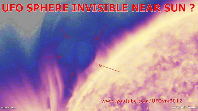 Retour d'invisible et mystérieuse planète objet de la taille près du Soleil?