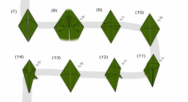 Berbagi Ilmu Pengetahuan: Membuat Origami Naga Keren