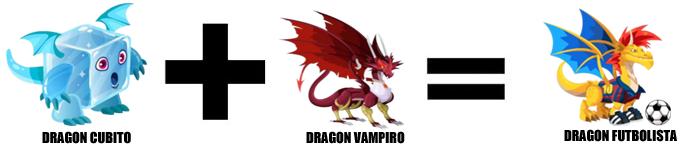 como sacar al dragon futbolista en dragon city combinacion 2
