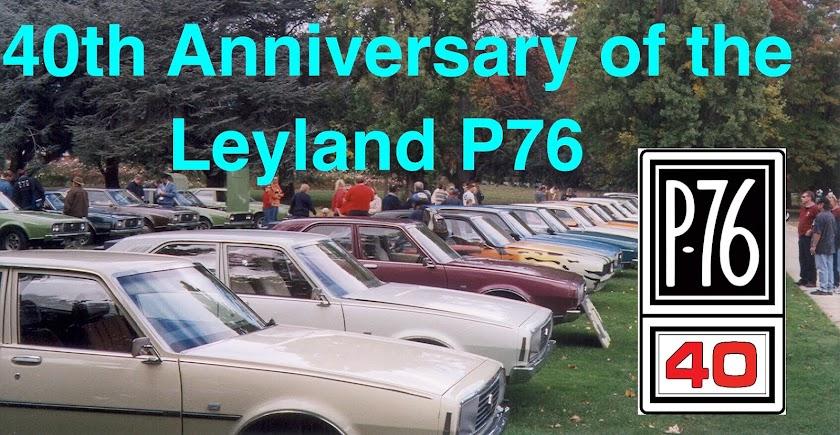 Leyland P76 40th Anniversary