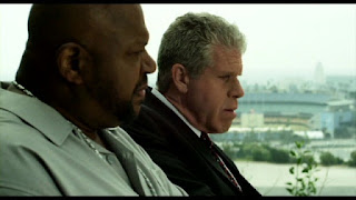 Charles S. Dutton and Ron Perlman