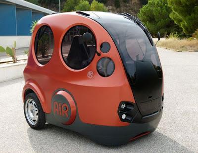 AirPod o carro que funciona com ar