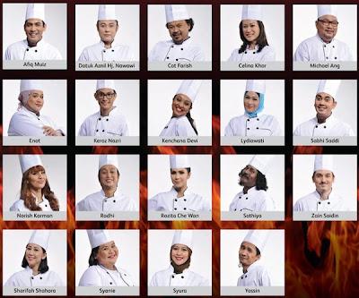 peserta masterchef selebriti malaysia musim 2