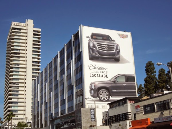 Giant Cadillac 2015 Escalade billboard