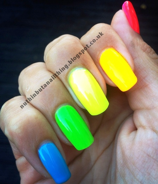 nuthin\' but a nail thing: NEON!
