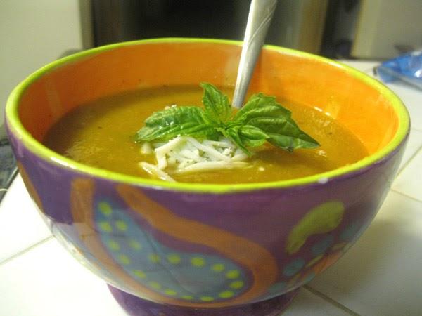 Amy's Nutritarian Kitchen: Pumpkin Wild Rice Soup