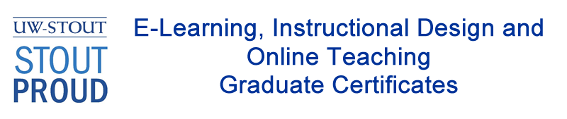 E-Learning & Instructional Design Certificate Programs