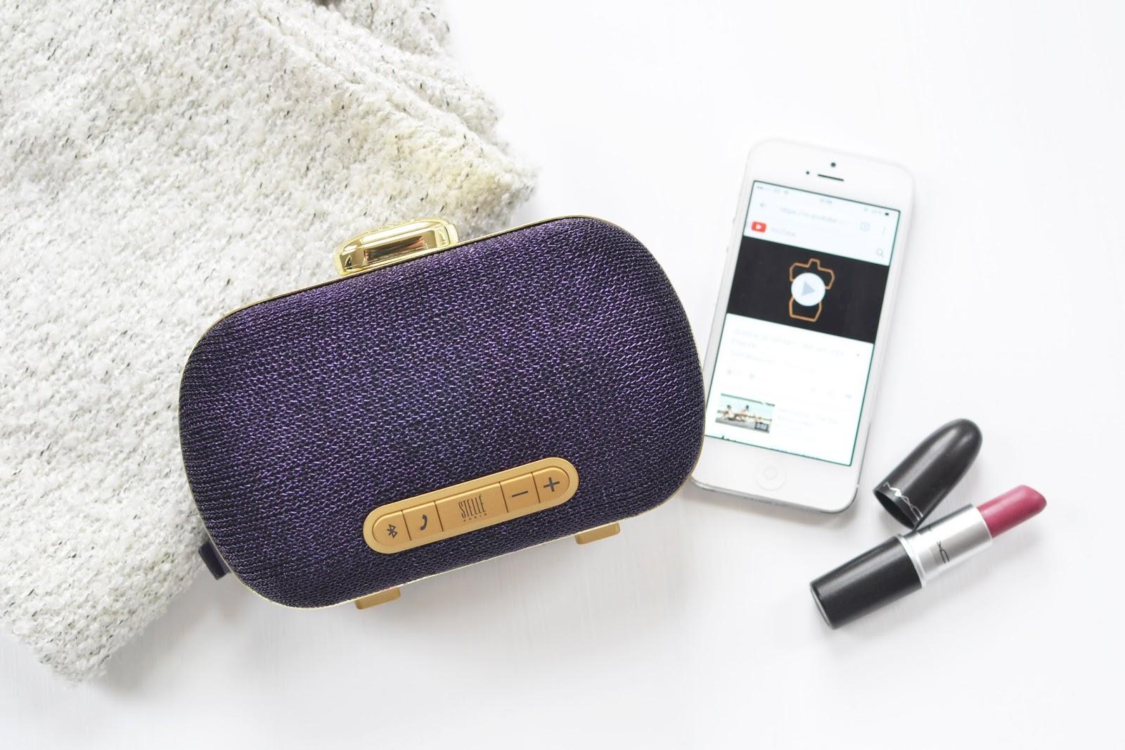 wearable technology, stelle audio, stelle audio mini clutch speaker