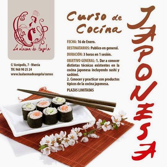 Curso de cocina japonesa en la alacena de ngela - Curso cocina japonesa ...