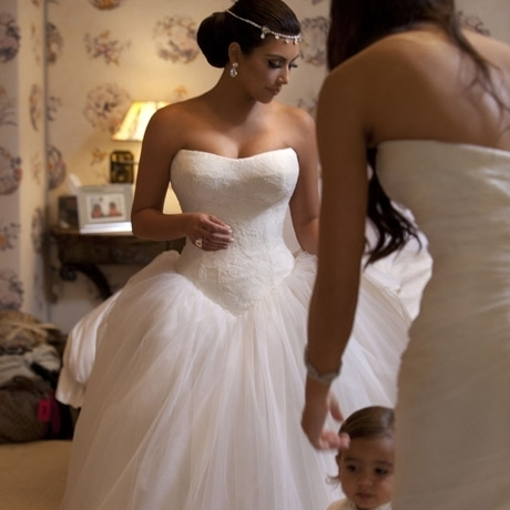 Trendsfor 2014: Kim Kardashian Wedding Dresses