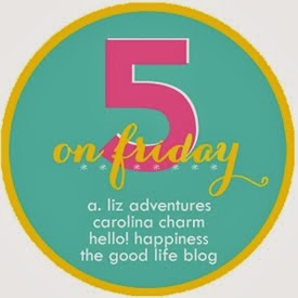 http://www.northcarolinacharm.com/2013/12/five-on-friday.html