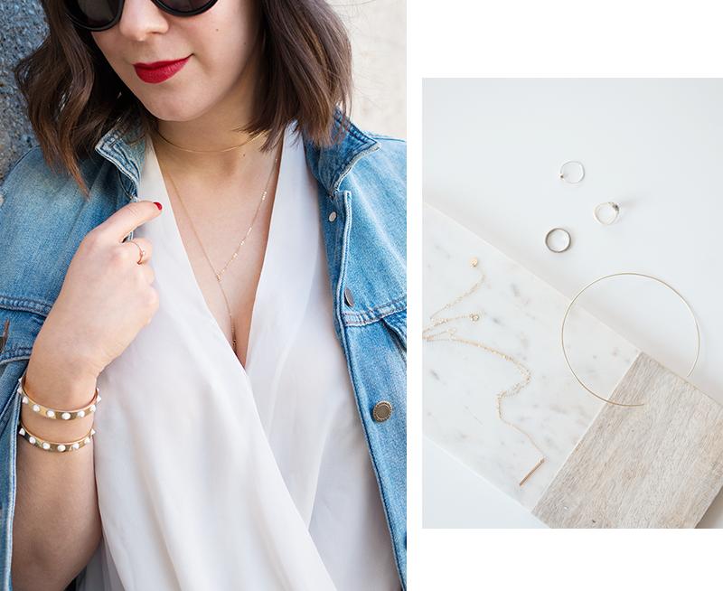 Gold Choker Necklace via Etsy
