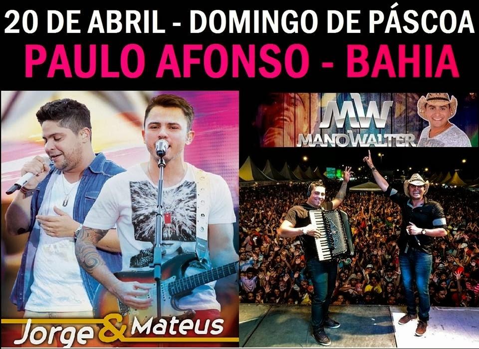 Jorge e Mateus & Mano Walter - O Show do Ano - O Encontro dos Fenômenos em Paulo Afonso-BA