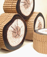 JeanineDesigns Log Coasters